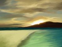 sunset_island1680X1050