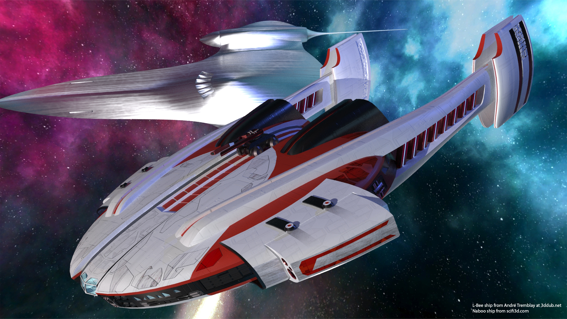 L-Bee spaceship