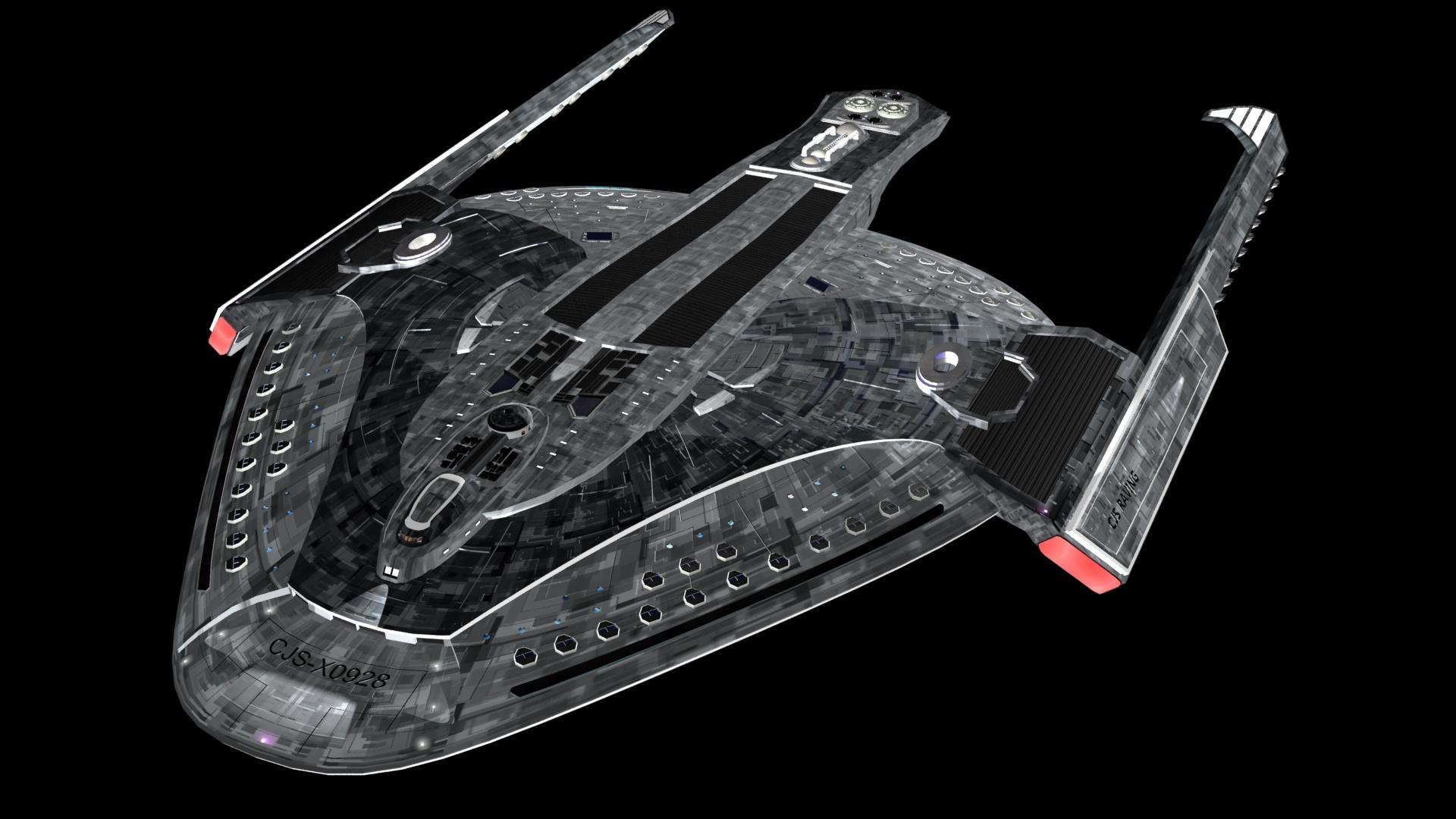 Star Trek C.J.S. Raving Fictive Ship