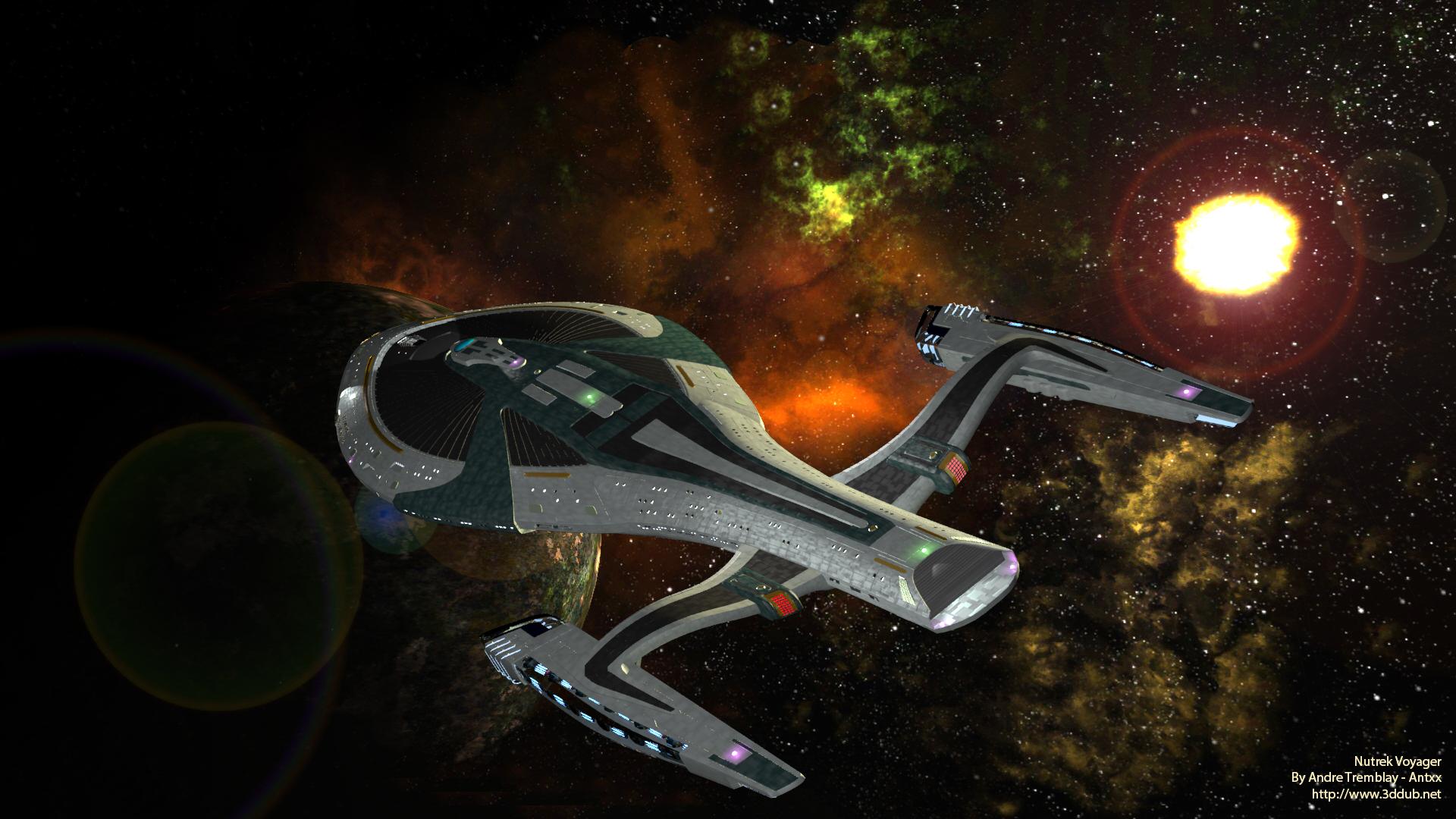 Nutrek JJverse U.S.S. Voyager